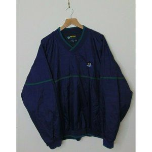 Vintage Eddie Bauer XL Blue Windbreaker Jacket